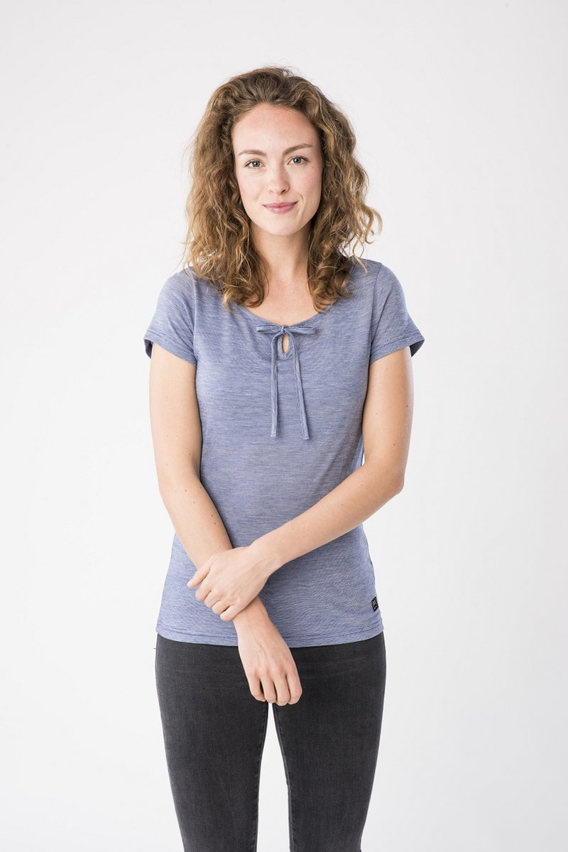 super.natural - RELAX TEE - Print T-shirt - blue