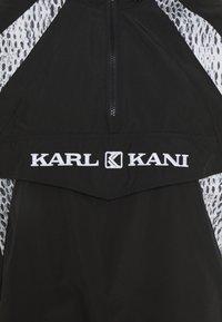 Karl Kani - RETRO BLOCK - Windbreakers - black - 6