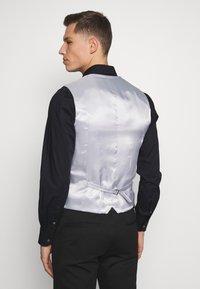 Esprit Collection - WINDOW CHECK - Waistcoat - dark blue - 2