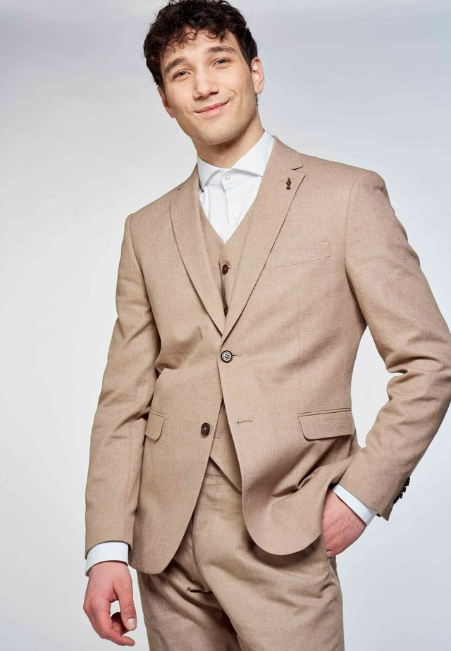 Suit jacket - brown