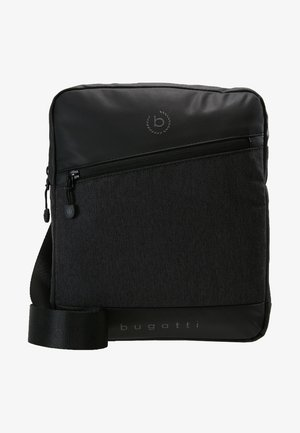 SMALL CROSSBODY BAG - Axelremsväska - black/grey