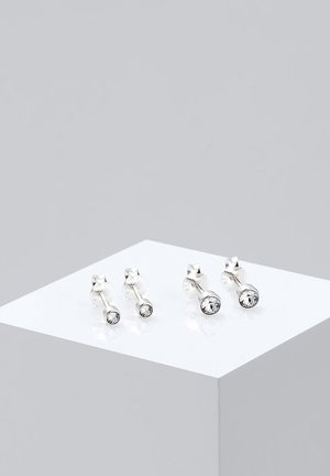 2er Pack Stecker - Earrings - silver-coloured