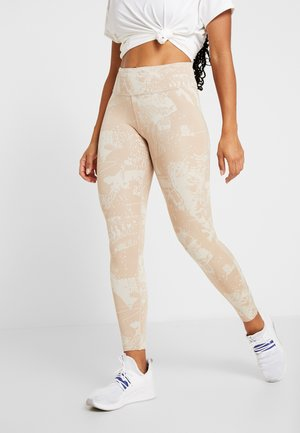 LUX TRAINING MIXED MARTIAL ARTS LEGGINGS - Punčochy - stucco