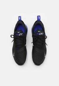 Nike Sportswear - NIKE AIR MAX 270 ESS - Tenisice - black/persian violet/white - 3