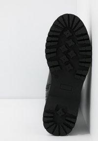 Even&Odd - Botas con cordones - black - 6