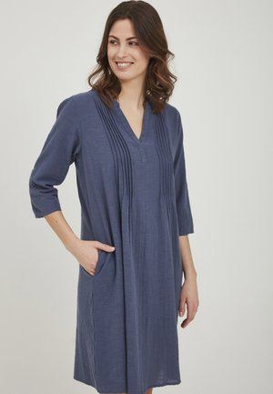 Korte jurk - vintage indigo