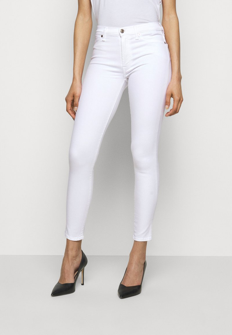 7 for all mankind - Jeans Skinny Fit - white