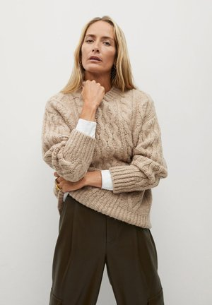 MANATI - Jumper - marron moyen