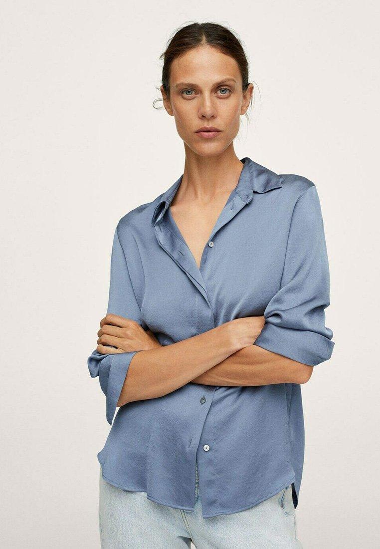 Mango - IDEALE - Overhemdblouse - blue