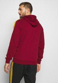 adidas Performance - FEF SPANIEN FZ HD - Zip-up hoodie - bordeaux - 2