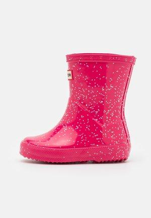 KIDS FIRST CLASSIC GIANT GLITTER - Regenlaarzen - pink