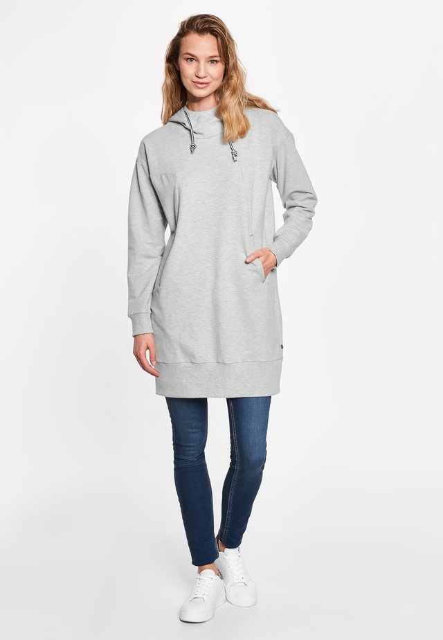 SHIRLEY - Korte jurk - grey melange