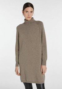 SET - Jumper dress - taupe - 0