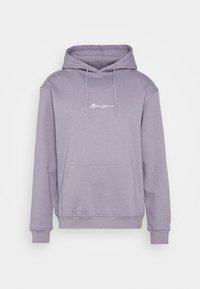 Mennace - ESSENTIAL SIGNATURE HOODIE UNISEX - Hoodie - murky violet - 4