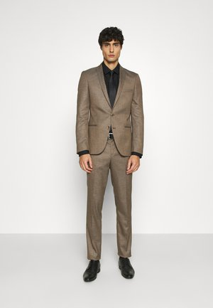 BODON SUIT - Kostym - brown