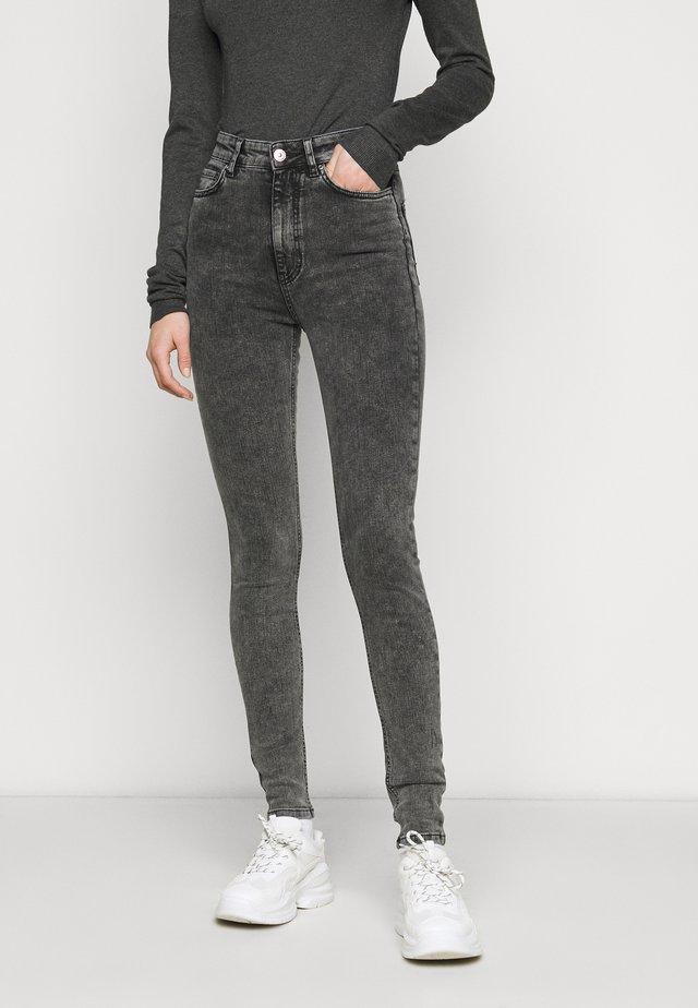 Jeans Skinny Fit - dark grey denim