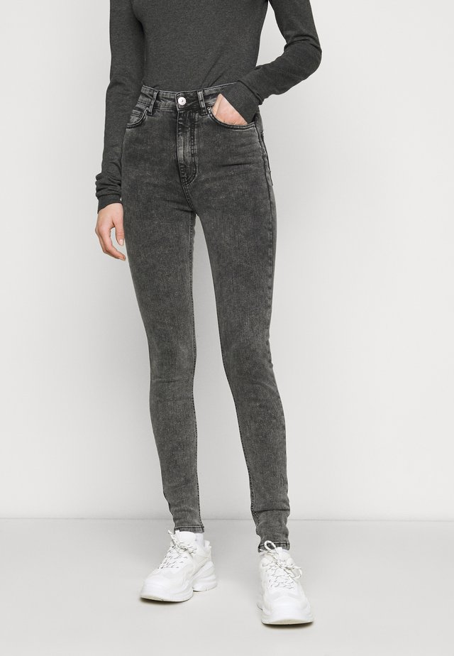 Jeans Skinny Fit - dark grey denim
