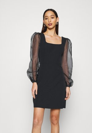 SABRINA SLEEVE DRESS - Cocktail dress / Party dress - black