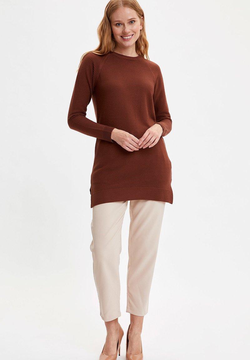 DeFacto Strickpullover - brown/braun xseO9b