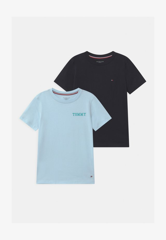 LOGO 2 PACK - Undershirt - blue