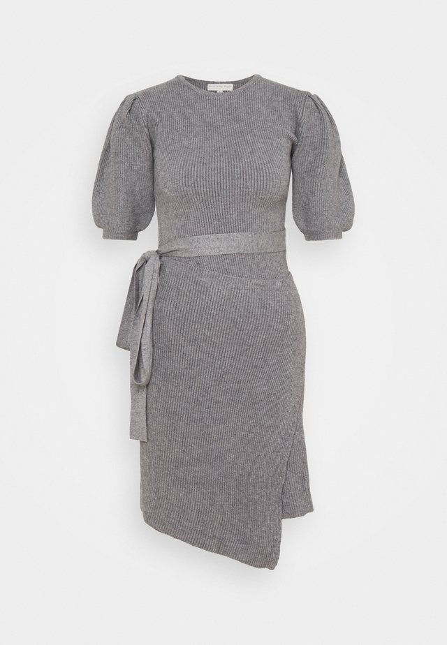 DRESS - Jumper dress - grey