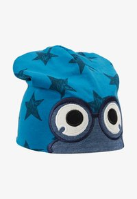 Fred's World by GREEN COTTON - STAR PEEP BEANIE - Pipo - deep blue - 1