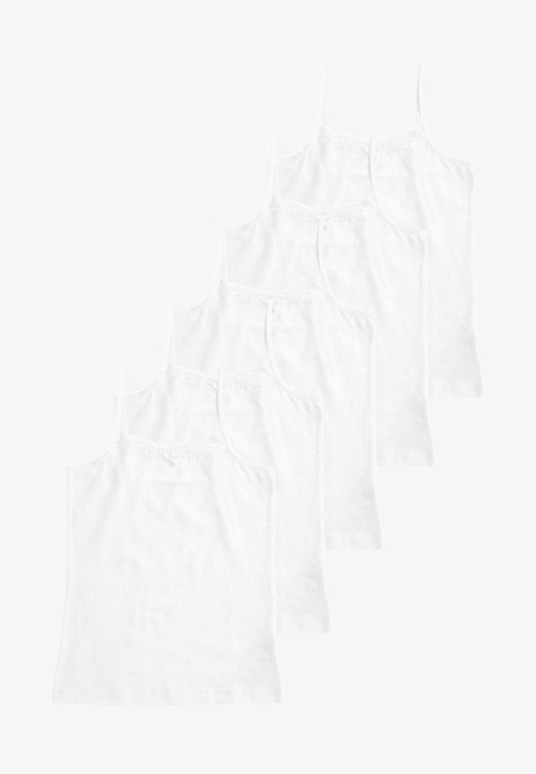 Next - CAMI 5 PACK - Top - white