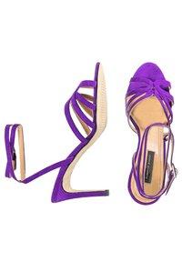 Alberto Zago - GRETA - Sandales à talons hauts - royal purple - 2