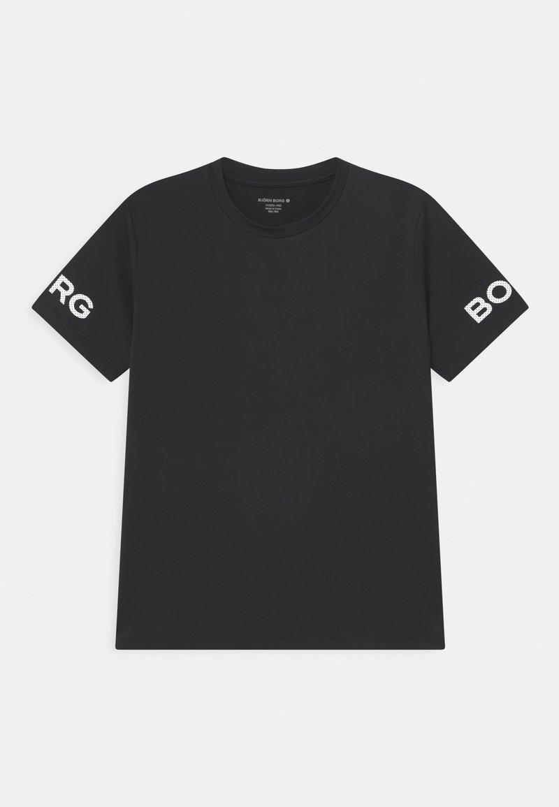 Björn Borg - UNISEX - Print T-shirt - black beauty