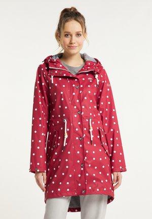 Waterproof jacket - rot dots aop