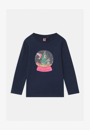STEVIE LONG SLEEVE EMBELLISHED - Camiseta de manga larga - indigo