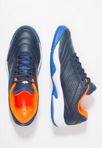 Lotto - COURT LOGO 8 ID - Zapatillas de tenis para moqueta sintética - blue - 1