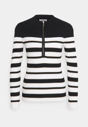 MIGNON - Jumper - off white/noir
