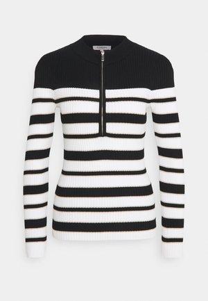 MIGNON - Pullover - off white/noir