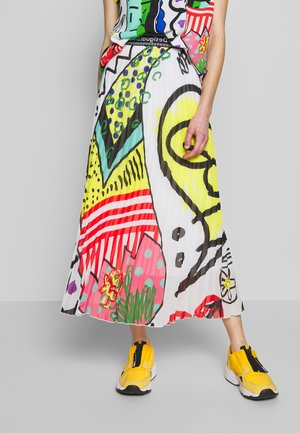 Maxi skirt - multi-coloured