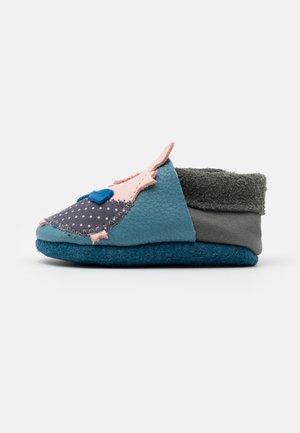 SCHWEINCHEN UNISEX - First shoes - blau