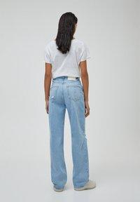 PULL&BEAR - Jeans straight leg - blue-grey - 2