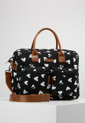 DIAPERBAG - Baby changing bag - black