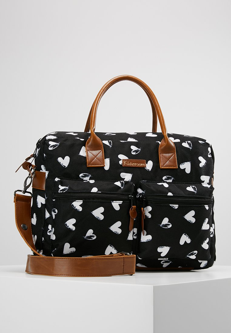 Kidzroom - DIAPERBAG - Torba do przewijania - black