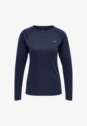 CORE RUNNING - Sports shirt - black iris