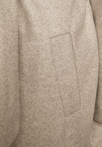 Vero Moda Tall - VMFORTUNE LONG JACKET - Classic coat - silver mink/melange - 2