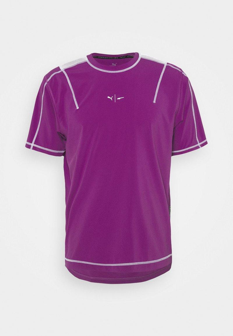 Puma - TRAIN FUTURE LAB TEE - T-shirt imprimé - byzantium