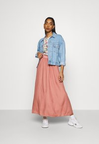 ONLY - Pleated skirt - ash rose - 1
