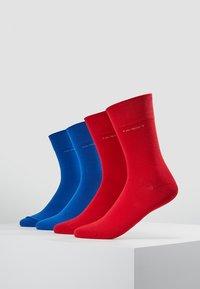 camano - SOFT 4 PACK - Socks - true red - 0