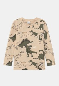 Lindex - MINI DINO  - Long sleeved top - light beige - 0