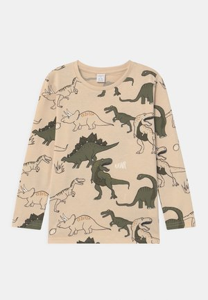 MINI DINO  - Maglietta a manica lunga - light beige