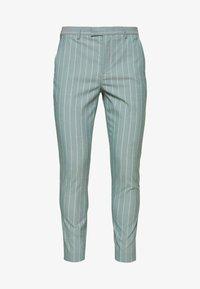 1904 - MOORE PIN STRIPE TROUSER SKINNY - Pantaloni - green - 0