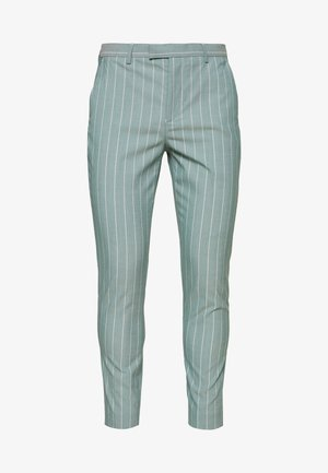 MOORE PIN STRIPE TROUSER SKINNY - Trousers - green