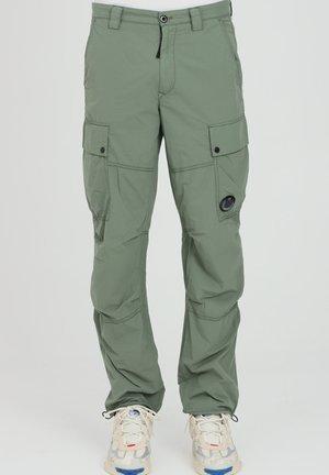Pantaloni cargo - laurel wreat
