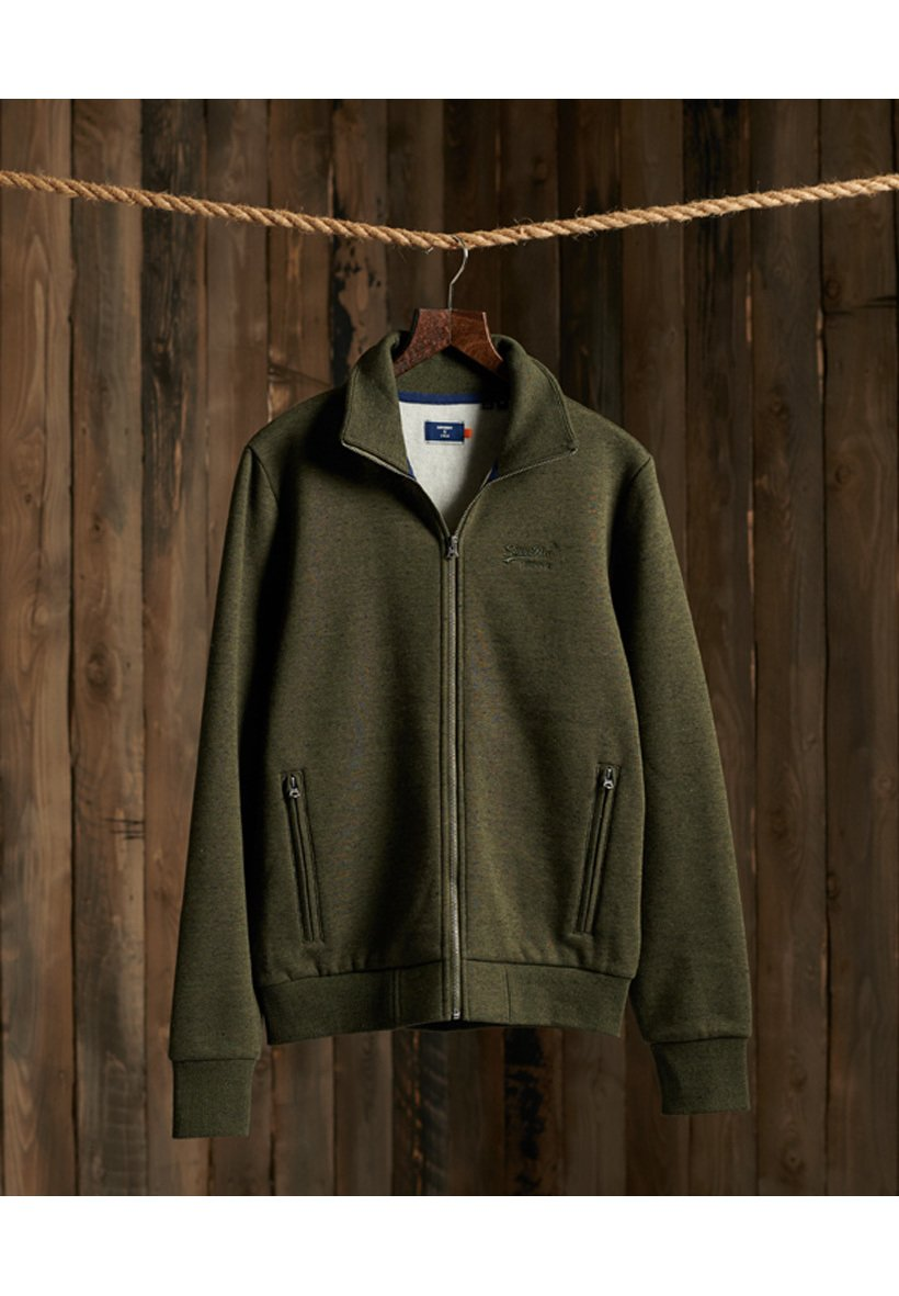 Men ORANGE LABEL CLASSIC TRACK - Zip-up sweatshirt